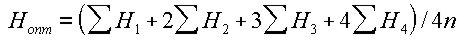формула оптимальной отметки планировки