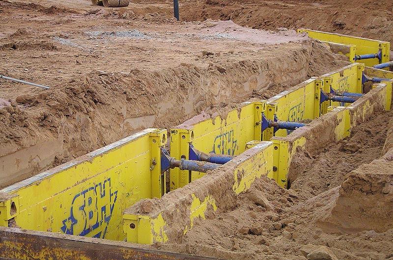 Крепь инвентарная С-300 от SBH - самая экономичная система для постепенного погружения при укреплении грунта.