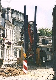 Работа в историческом центре города