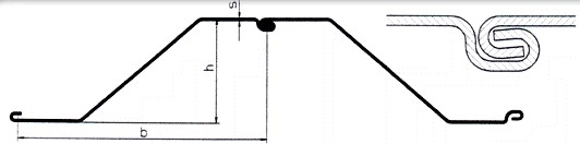Шпунт Ларсена Z-типа от SBH - замок и профиль
