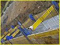 Крепь SBH серии C-790 с направляющими и подвижной распоркой. Глубина до 5 м